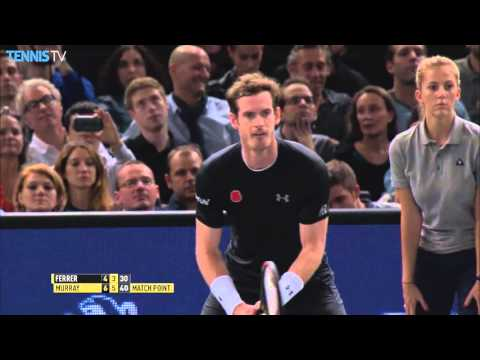 2015 BNP Paribas Masters Paris - Semi Finals feat Djokovic, Wawrinka,  Murray, Ferrer