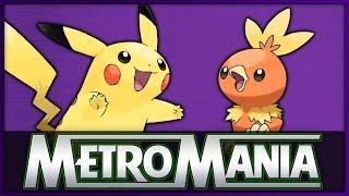 MetroMania Season 4 Quarter Final 3   Pikachu vs Torchic   Starter Pokémon Metronome Battle
