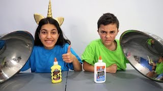 Don't Choose the Wrong Glue Slime Challenge