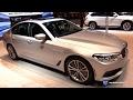 2018 BMW 5 Series 530e iPerformance - Exterior and Interior Walkaround - 2017 Chicago Auto Show