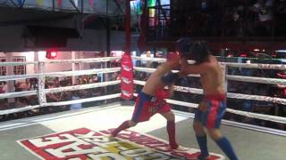 Thai Kickboxing on Phi Phi Island, Thailand 2012