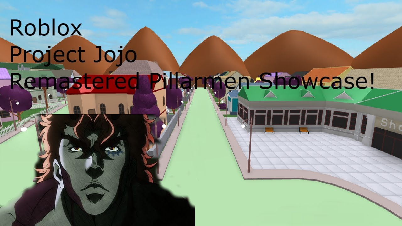 Roblox Project Jojo Remastered Pillarmen Showcase!