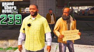 ខ្ញុំបានជួបមនុស្សចម្លែកៗ - I Found Homeless Guys - GTA 5 Redux Real Life Ep239 Khmer|VPROGAME