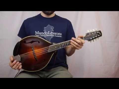 Beginner Mandolin Series (Part 1) - Proper Mandolin Technique (How To Hold The Mandolin)