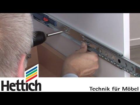 How To Install Blum Tandem Undermount Drawer Slides T