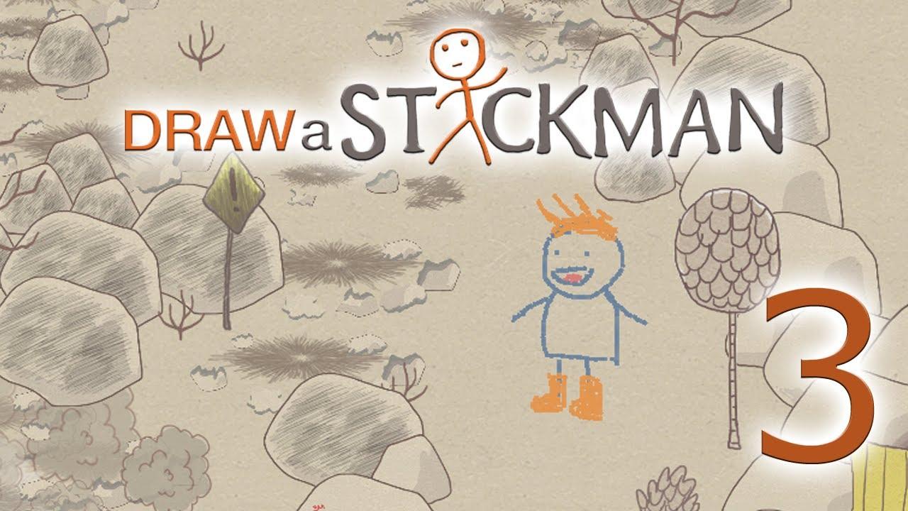 Flaming Rocks Draw A Stickman Epic Episode 3 Youtube