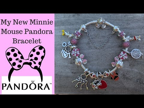 My New Disney Minnie Mouse Pandora Bracelet