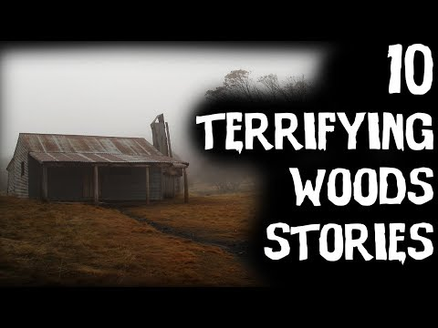 10 TERRIFYING True Deep Woods & Camping Horror Stories   Ft.DarknessPrevails