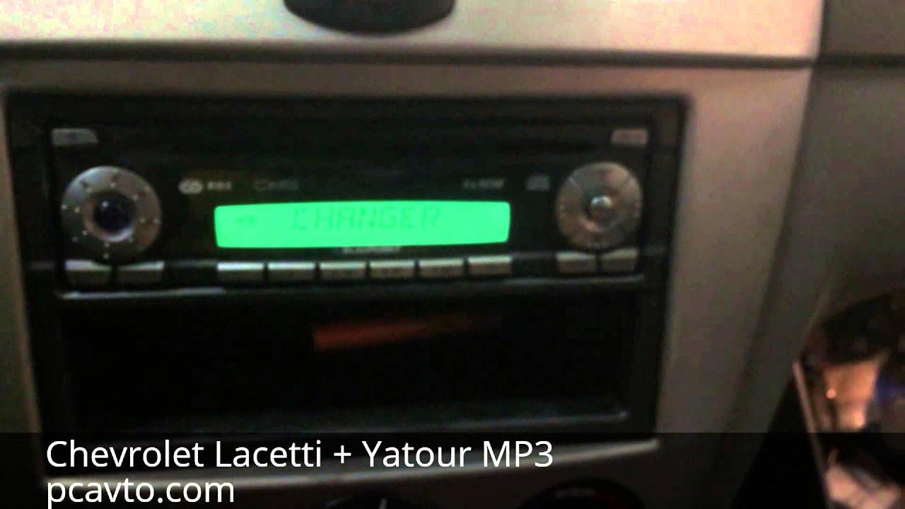 Chevrolet lacetti mp3