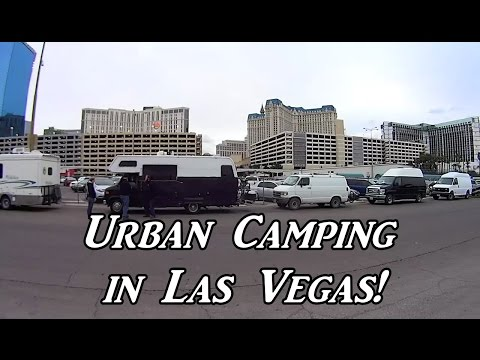 Urban Camping in Las Vegas! Van Life On the Road