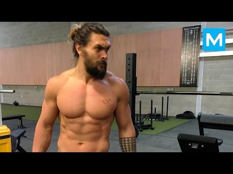 Download Youtube: Jason Momoa Workout for Batman v Superman | Muscle Madness