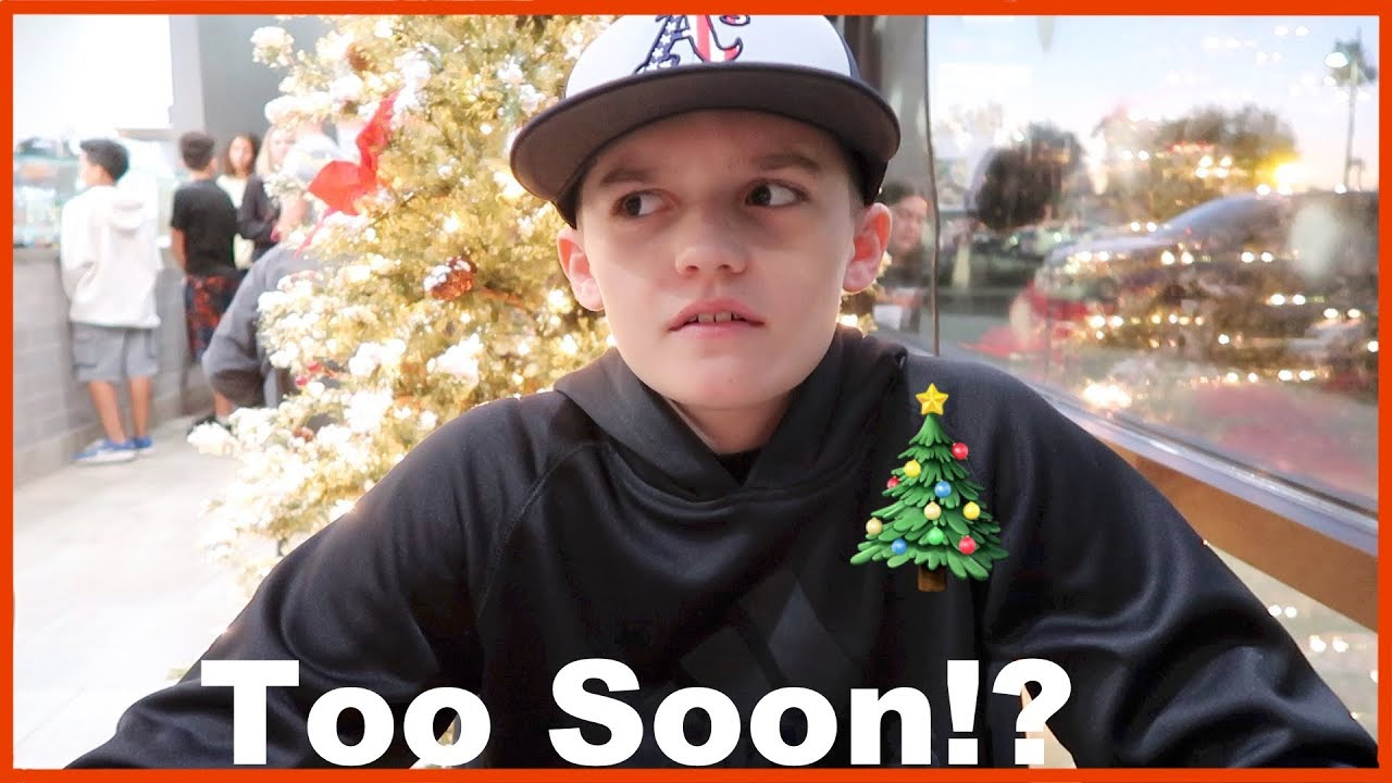 Guess Who\'s Not Ready for Christmas?? - YouTube