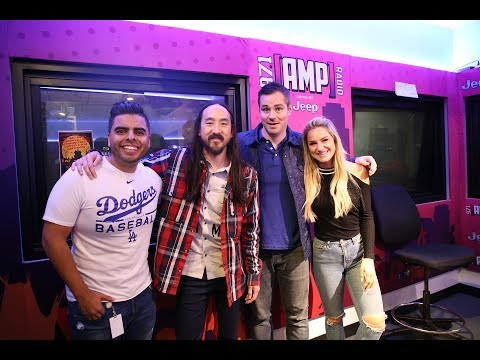 """Steve Aoki World Premieres BTS Collab """"Waste It On Me"""" LIVE On AMP Morning Show"""