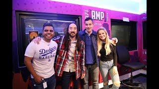 Steve Aoki World Premieres BTS collab &quotWaste It On Me&quot LIVE on AMP Morning Show