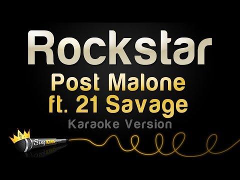 Post Malone Ft. 21 Savage - Rockstar (Karaoke Version)