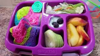 How I make my kindergartener's lunches - Bento Box Style - Week 19