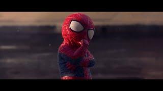 Человек паук и малыш!