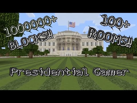 MINECRAFT'S BEST WHITE HOUSE (FULL-SCALE) PART 2!