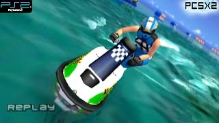 Wave Rally -  PS2 Gameplay SD + FXAA (PCSX2)