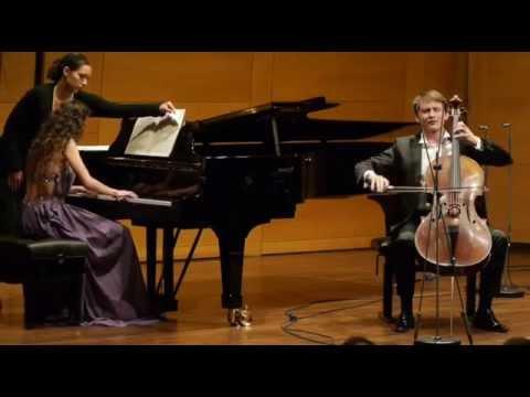 Robert Schumann Fantasiestücke op. 73 - Benedict Klöckner & Danae Dörken