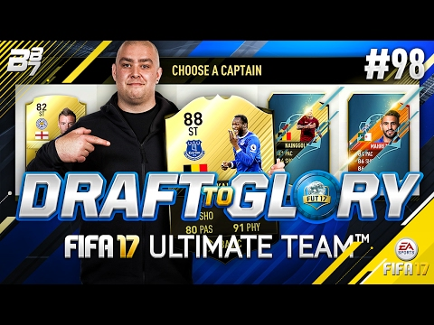 DRAFT TO GLORY! THE BELGIAN BEAST!! #98 | FIFA 17 ULTIMATE TEAM