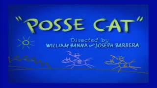 Tom and Jerry Episode 81 Posse Cat Part 1