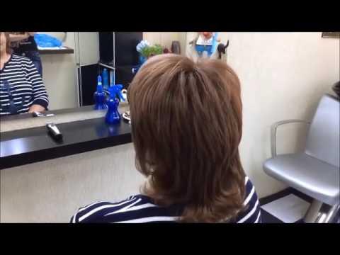 Стрижка каскад на длинные волосы фото