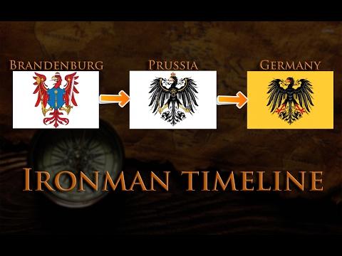 Europa Universalis 4 | Brandenburg-Prussia-Germany Timelapse