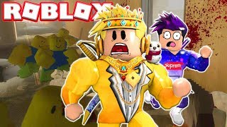 DO NOT LET ROBLOX ZOMBIES CATCH YOU! 🤢⚠️ APOCALIPSIS ROBLOXIANO #1 RODNY
