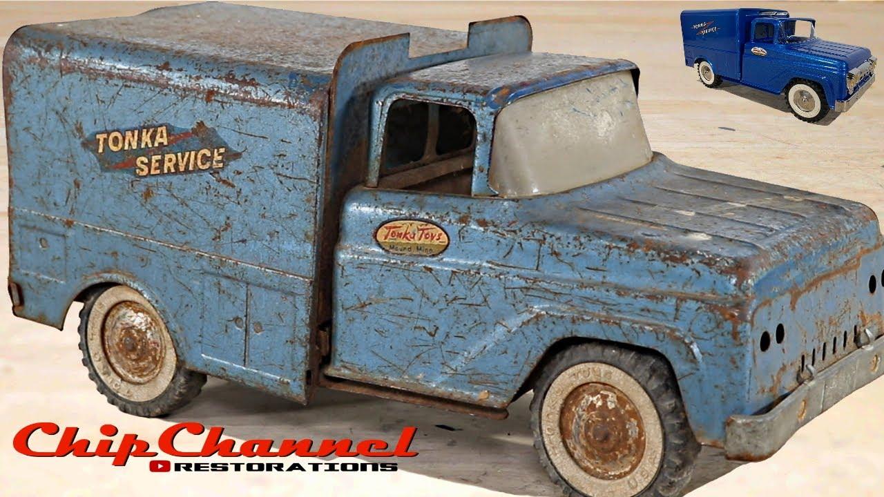 1959 Tonka Service Box Truck Restoration