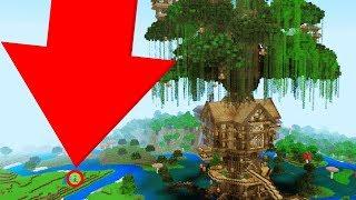 WORLD'S LARGEST MINECRAFT TREEHOUSE! (Minecraft News Update)