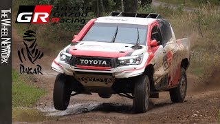 TOYOTA GAZOO Racing Dakar Rally Team – Poland Testing with Fernando Alonso