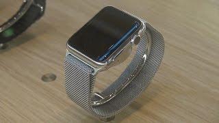 Nous avons essayé la Watch à l'Apple Store