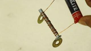 كيفية صنع المغناطيس مع البطارية في المنزل