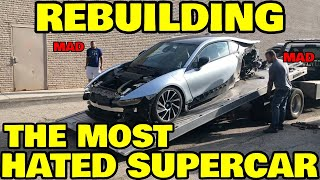 "Rebuilding my WRECKED BMW, i8 the most HATED ""supercar"""