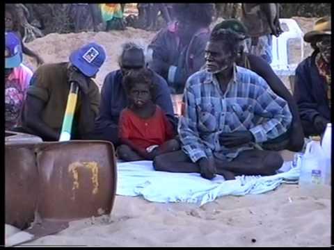 Aboriginal song and dance for initiation in Numbulwar, Arnhem Land