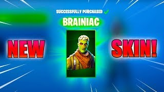 *NEW* BRAINIAC Skin in Fortnite | Axhilty Gaming