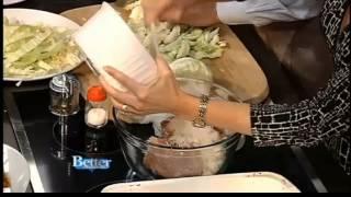 Easy Stuffed Cabbage Casserole