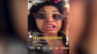 Cardi B's Sister Hennessy Carolina Goes Off On Azealia Banks!  Pull Up Then