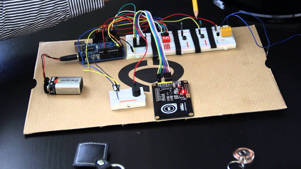 Arduino Rfid Garage Door Opener Youtube