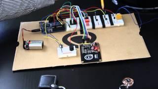 arduino rfid garage door opener