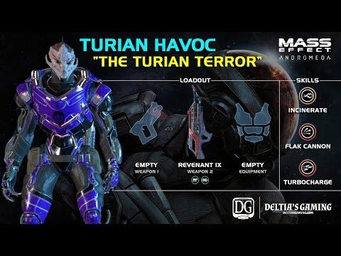Turian Havoc Mass Effect Andromeda Build [The Turian Terror]