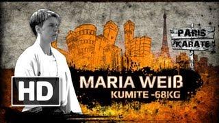 Maria Weiß -68 kg WORLD KARATE CHAMPIONSHIPS PARIS 2012 Promo [HD]