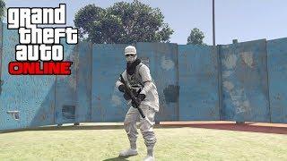 GTA 5 Online - Free Aim Deathmatch Against My Lil Brother   GTA 5 Online Gameplay