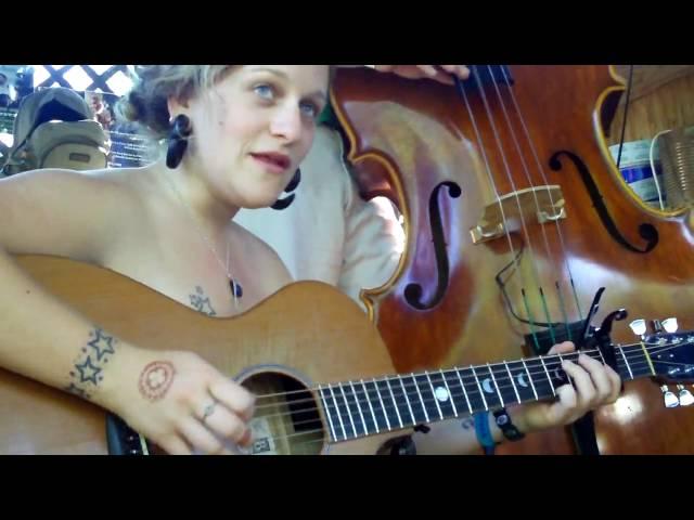 "Raina Rose ""If You're Gonna Go"" Kerrville Folk Festival 2009"