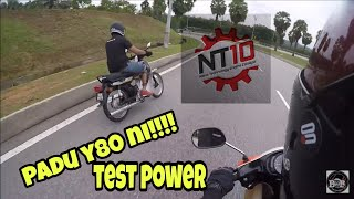 nt10   test review   yamaha y80 power   vlog 112