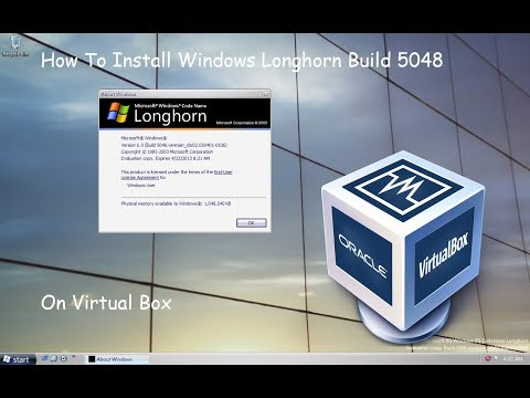 How To Install Windows Longhorn Build 5048