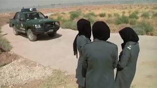 Afghan Police Women's Driving School, b-roll AFGHANISTAN 07.30.2017