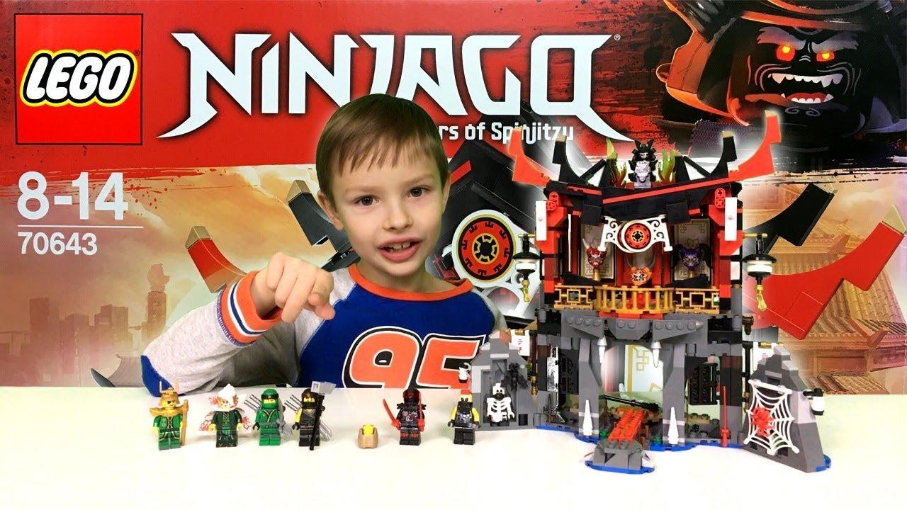 świątynia Wskrzeszenia Recenzja Lego Ninjago 70643 Nowość Youtube