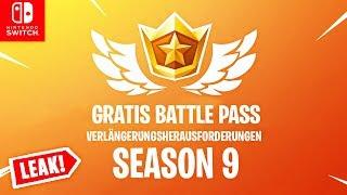 GRATUIT Saison 9 Battle Pass à venir? Défis de renouvellement LEAK (fr) Commutateur Fortnite
